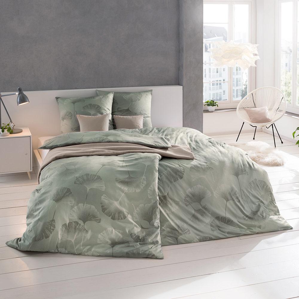 Bettwäsche Isabella - Farbe Oliv <br> Jetzt entdecken >>