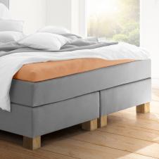 Topper-Spannbetttuch   sand