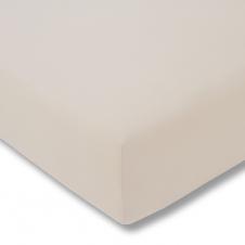 Topper-Spannbetttuch   beige