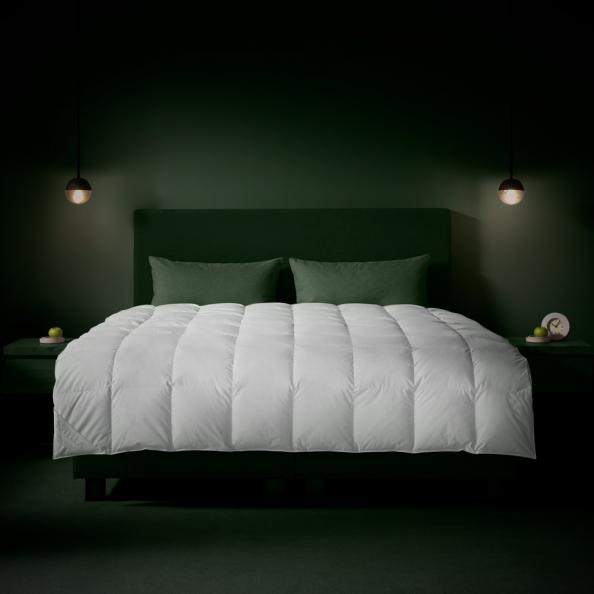 Bettdecke Vier-Jahreszeiten | weiss