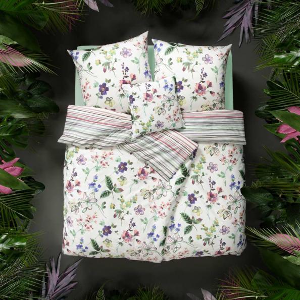 Bettwäsche Lily   multicolor