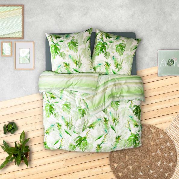 Bettwäsche Tropicana | grün