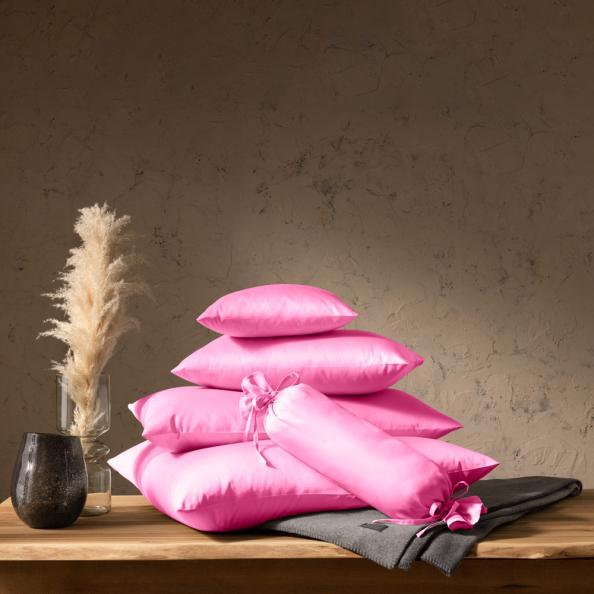Kissenbezug Satin | pink 40x40