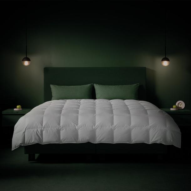Bettdecke Eiderdaunen | weiss
