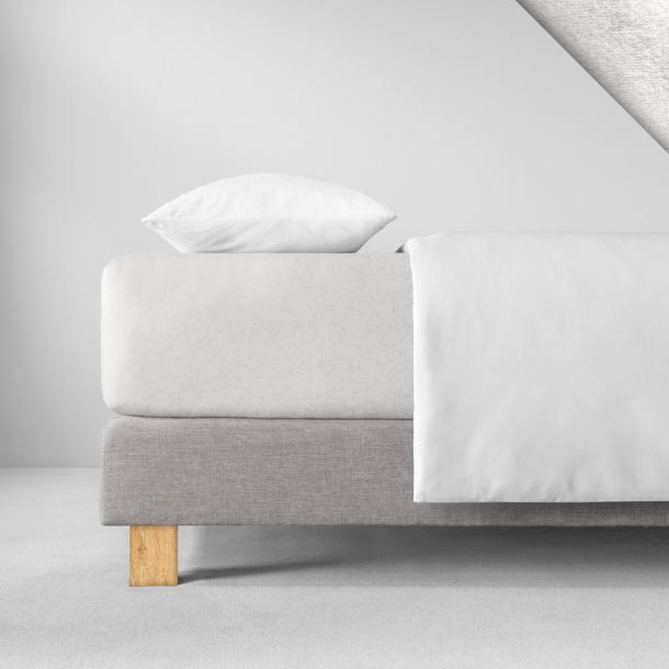 Spannbetttuch Samt-Velours | elfenbein 140-160 (Breite) x 200 (Länge)