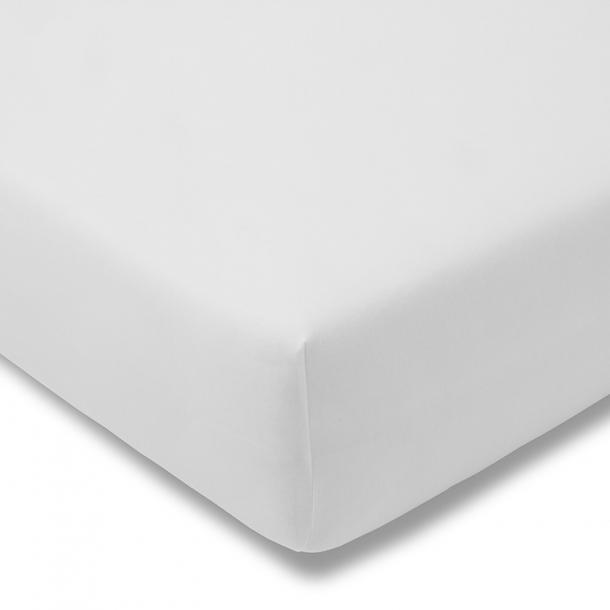 Spannbetttuch Bio-Jersey | weiss 90-100 (Breite) x 190-200 (Länge)