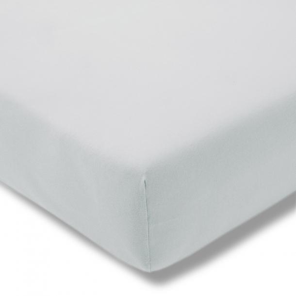 Spannbetttuch Bio-Jersey | grau 100x200