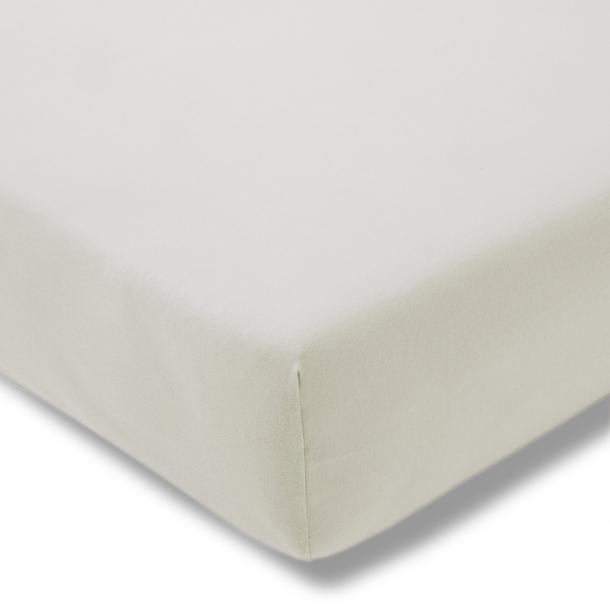 Spannbetttuch Bio-Jersey | stein 90-100 (Breite) x 190-200 (Länge)