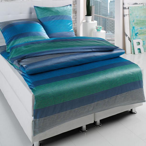 Bettwäsche Estella | blau 135x200 + 80x80