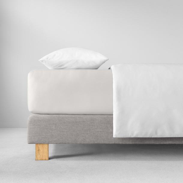 Spannbetttuch Zwirn-Jersey | elfenbein 90-120 x 200-220