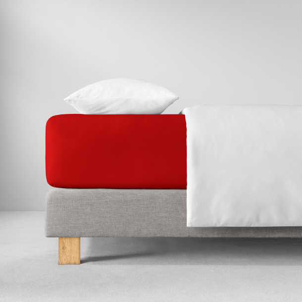 Spannbetttuch Zwirnjersey | purpur 90-120 (Breite) x 200-220 (Länge)