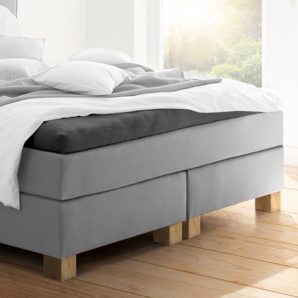 Topper-Spannbetttuch   graphit