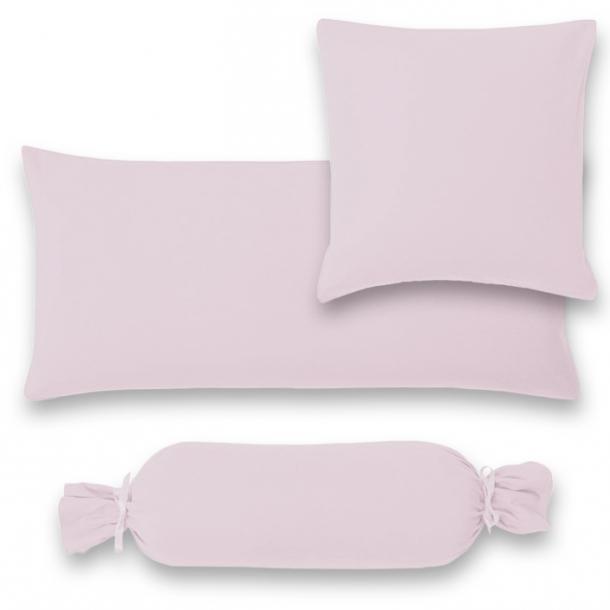 Kissenbezug Satin | lavendel 15x40  Nackenrolle