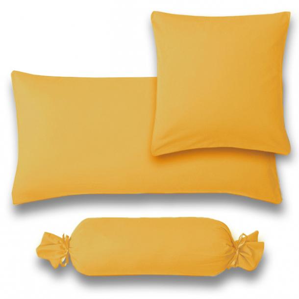 Kissenbezug Satin | sonne 15x40  Nackenrolle