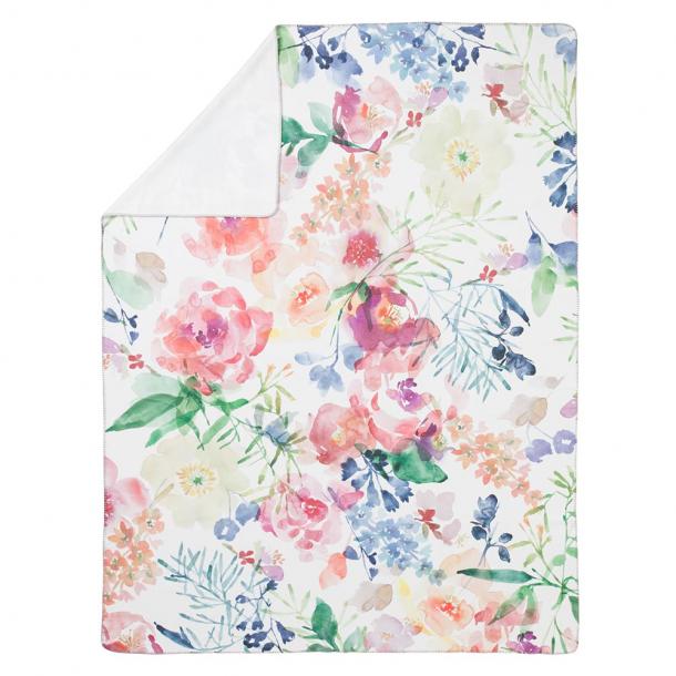 Wohndecke Rose | multicolor