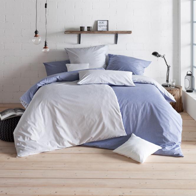 Bettwäsche Ronda   blau 135x200 + 80x80