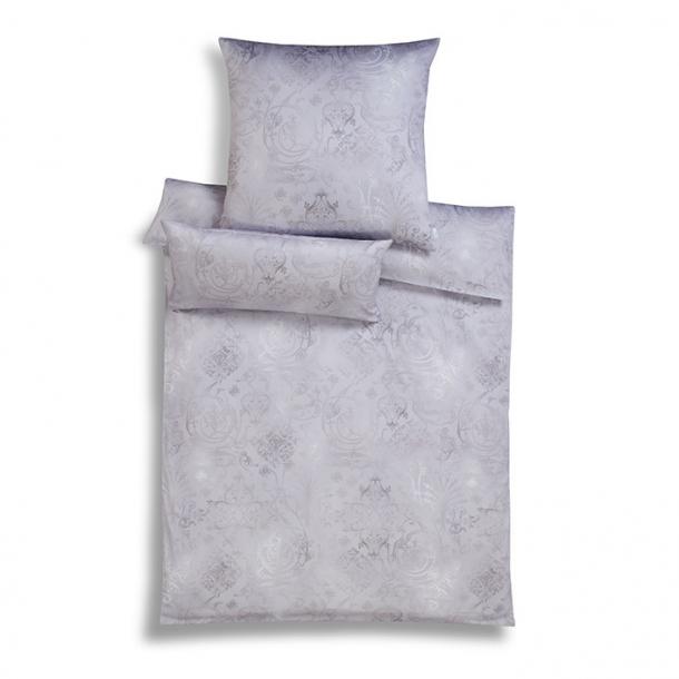 bettw sche gregorio silber mako interlock jersey von estella estella. Black Bedroom Furniture Sets. Home Design Ideas