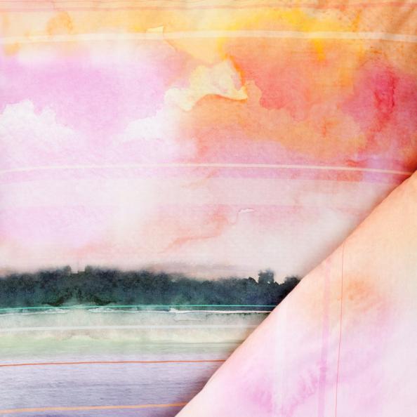 Bettwäsche Sunset   multicolor