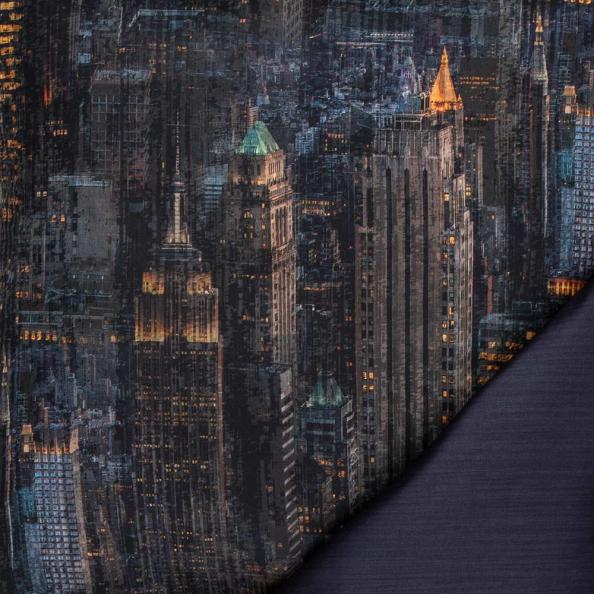 Bettwäsche Skyline | nachtblau