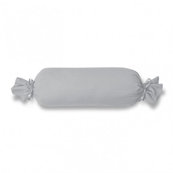 Kissenbezug Satin | silber