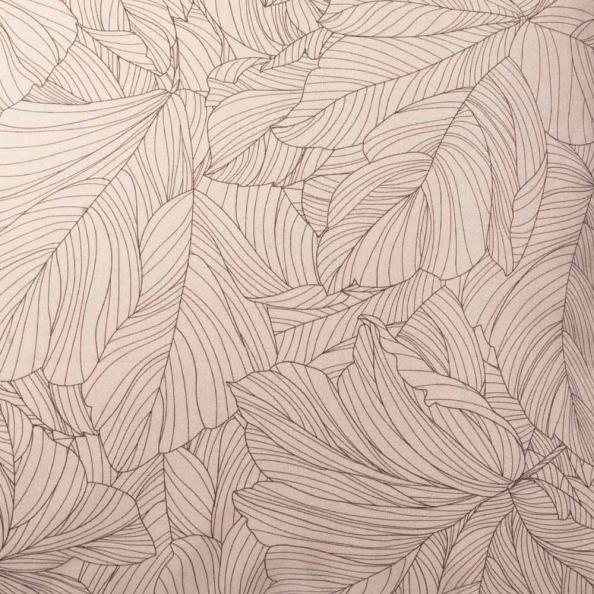 Dekokissenbezug Flora | rosenholz