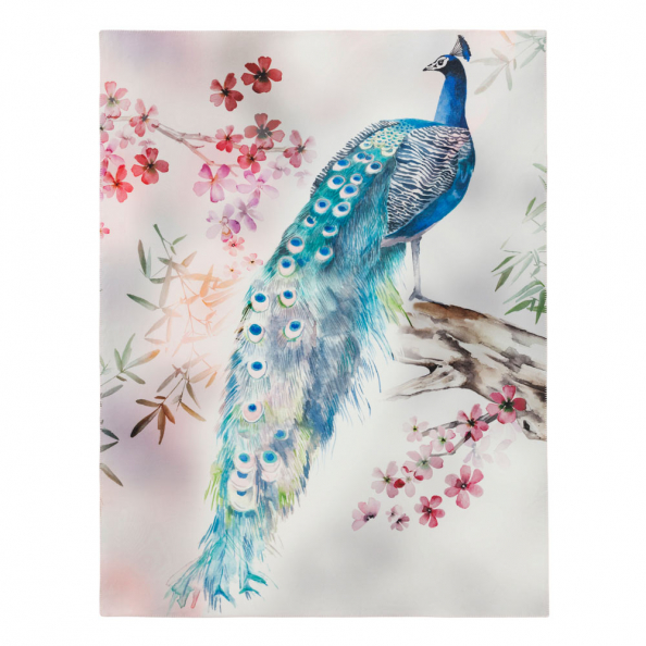 Wohndecke Peacock | multicolor