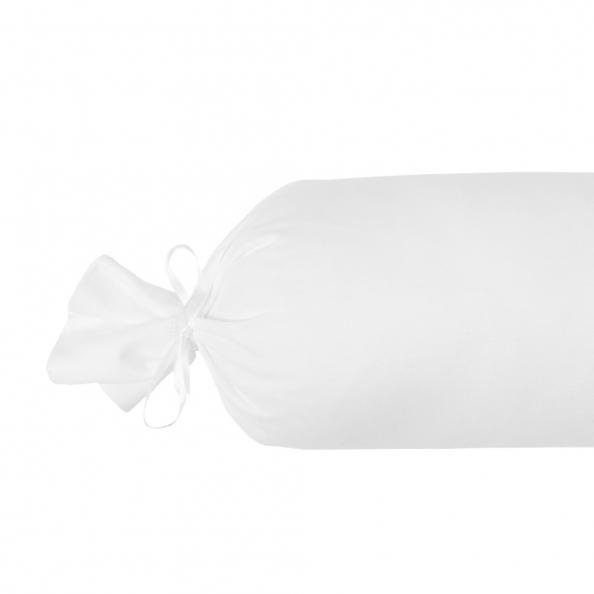 Nackenrolle Jersey - gefüllt | weiss