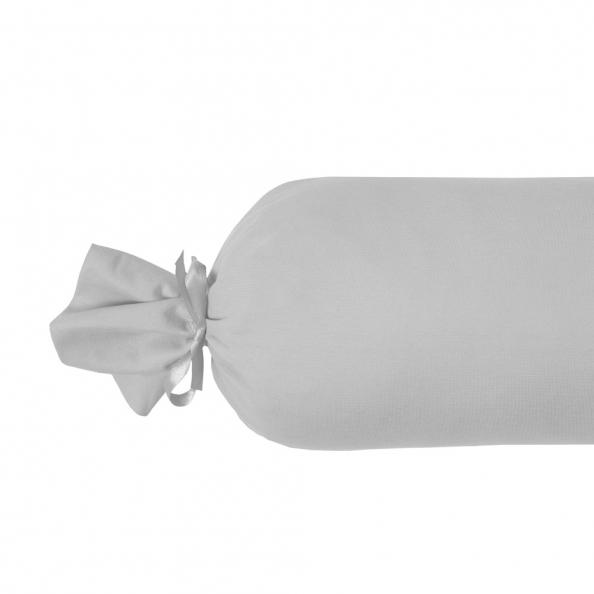 Nackenrolle Jersey - gefüllt | platin