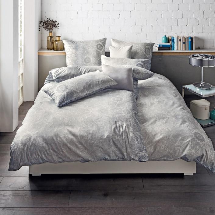 bettw sche rocio kiesel estella. Black Bedroom Furniture Sets. Home Design Ideas