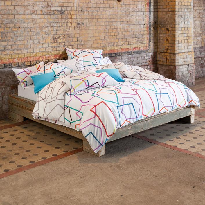 bettw sche scribble multicolor estella. Black Bedroom Furniture Sets. Home Design Ideas