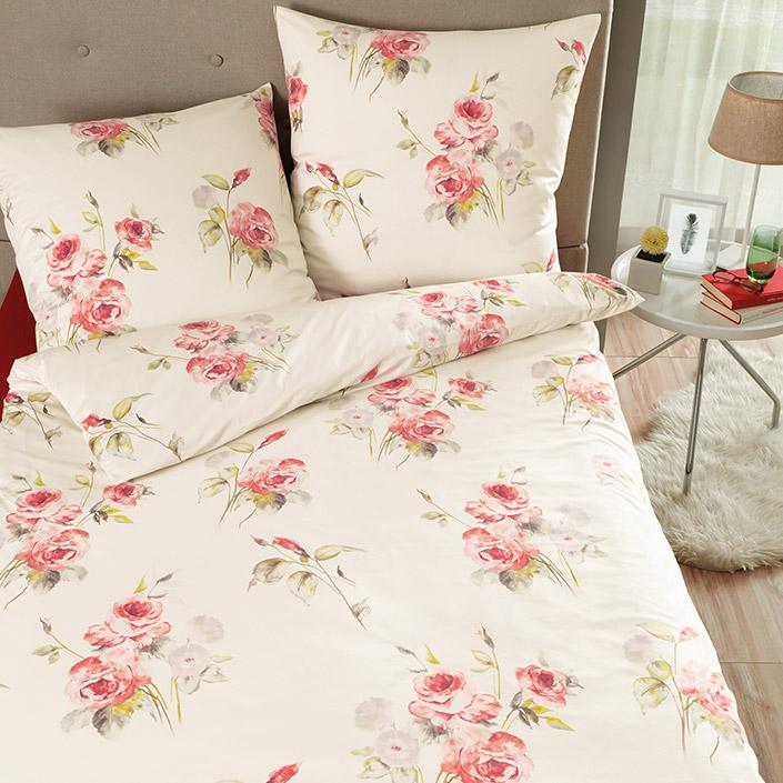 bettw sche janette rot estella. Black Bedroom Furniture Sets. Home Design Ideas