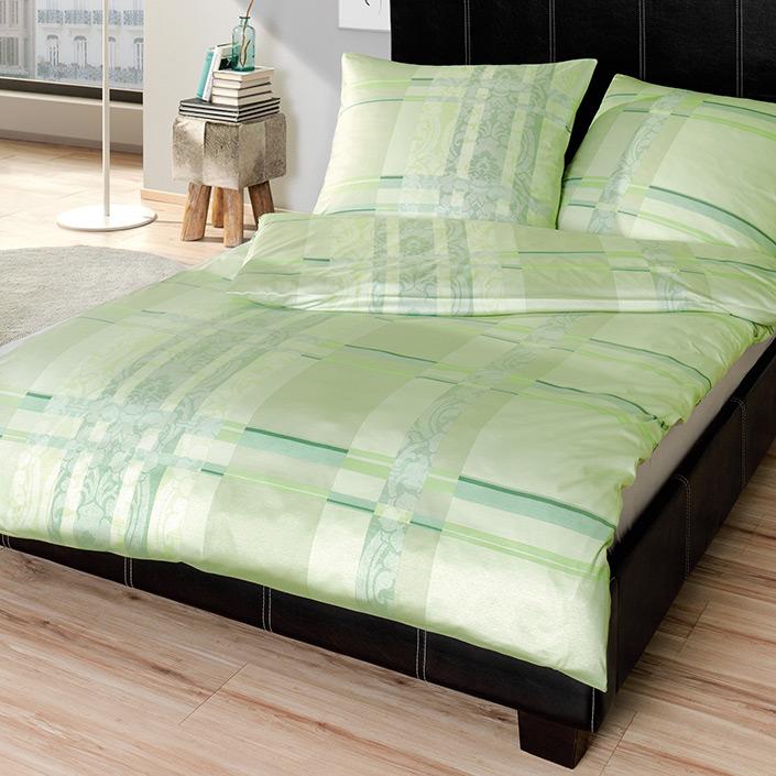 bettw sche montmartre gr n estella. Black Bedroom Furniture Sets. Home Design Ideas