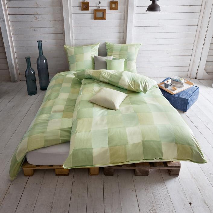 bettw sche vasco reseda estella. Black Bedroom Furniture Sets. Home Design Ideas