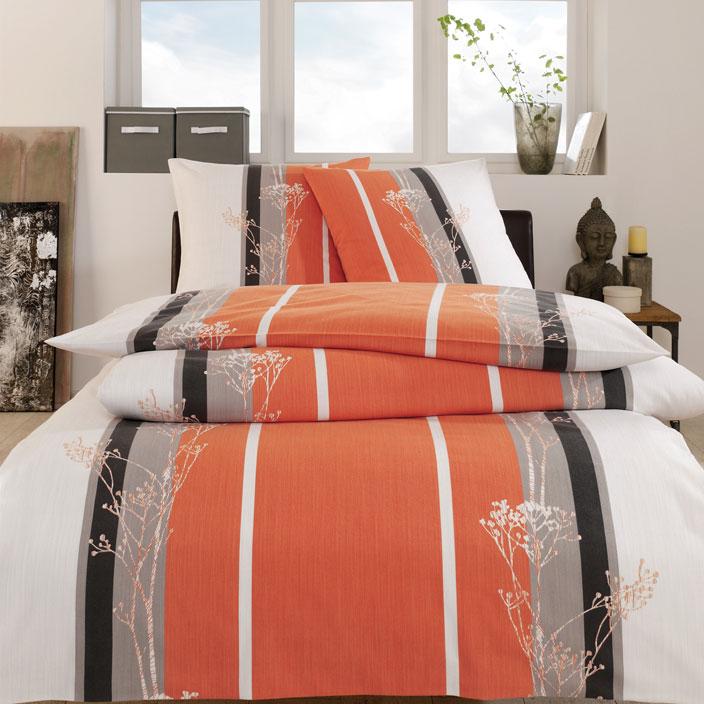 bettw sche kriens lachs 135x200 80x80 estella. Black Bedroom Furniture Sets. Home Design Ideas
