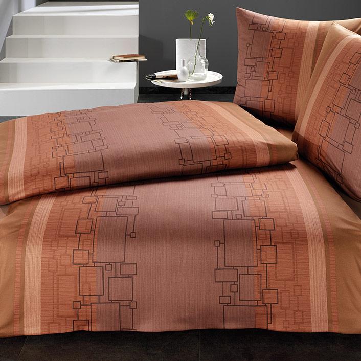 bettw sche eicca kastanie estella. Black Bedroom Furniture Sets. Home Design Ideas