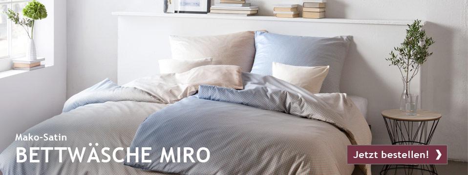 Bettwäsche MIRO