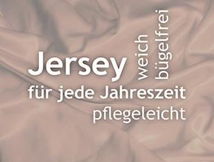 Bügelfreie Jersey-Bettwäsche